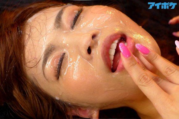 愛華みれい(別名:西村美咲) 綺麗な顔でごっくん解禁12