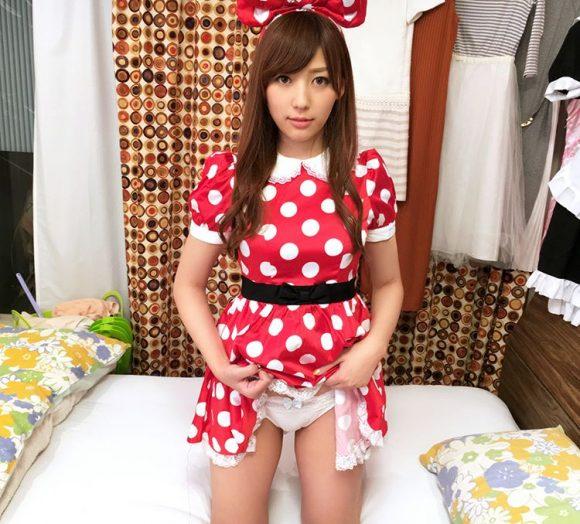 愛音まりあ Eカップ!アイドル級美少女の生着替えニコニコ動画の画像13