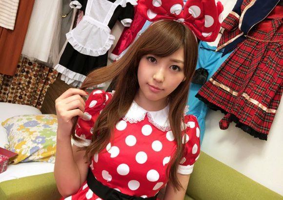 愛音まりあ Eカップ!アイドル級美少女の生着替えニコニコ動画の画像12