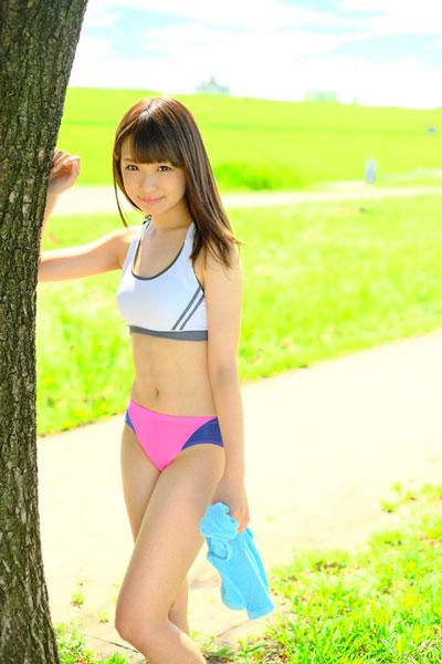 エッロ~い女子大マラソン部員 早乙女夏菜 18才 AVデビュー 2