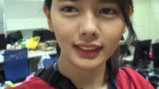 SOD女子社員 制作部 入社1年目 AD 佐藤カレンを密着取材すると少しエロい映像が撮れました2