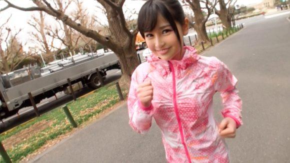 小野寺梨沙 ジョギングナンパ06 りさ19歳 グラビアアイドル2