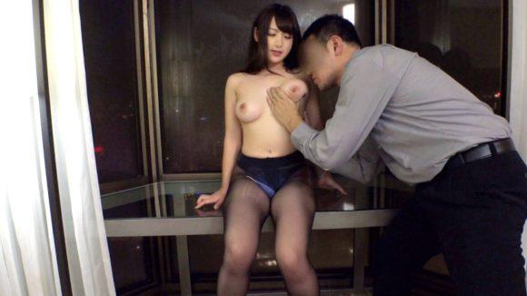 坂井亜美 突き出た豊満Fカップ! 二十歳のプリ尻! ラグジュTV5