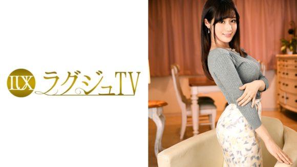 加藤ゆり 26歳 ムッチリ淫乱! 突き出た美巨乳が激エロ! ラグジュTV1