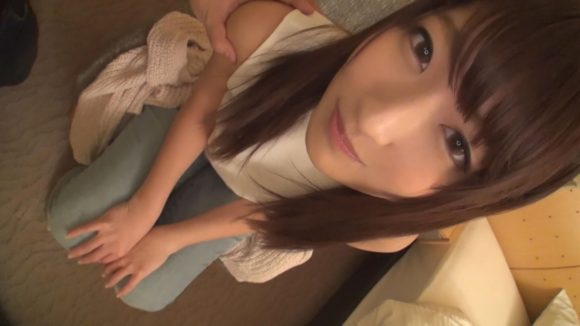 みお 21歳 Dカップ巨乳美少女! 【初撮り】ネットでAV応募→AV体験撮影1