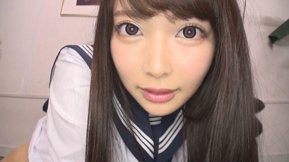 五十嵐星蘭(いがらしせいらん)20歳 Cカップ! 黒髪お嬢様がAVデビュー1