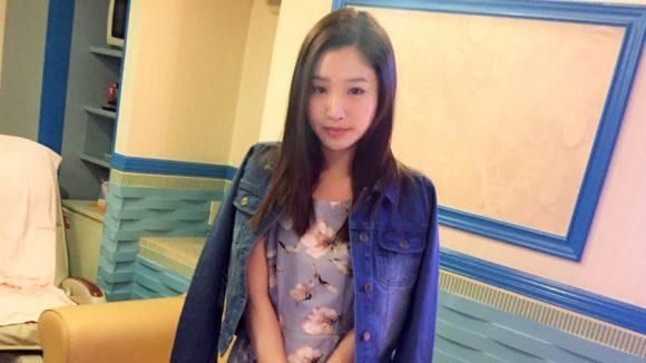 篠宮玲奈 Cカップ! 黒髪ロングのお姉さんが激エロの初撮りネットでAV応募1
