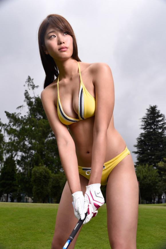 稲村亜美 21歳Fカップ! 最初で最後の水着写真集! '17セクシーグラビアまとめ神スイング67