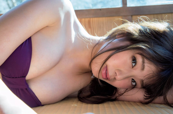 稲村亜美 21歳Fカップ! 最初で最後の水着写真集! '17セクシーグラビアまとめ神スイング29