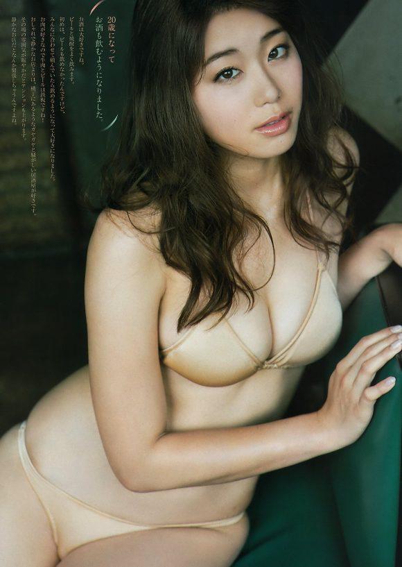 稲村亜美 21歳Fカップ! 最初で最後の水着写真集! '17セクシーグラビアまとめ神スイング61
