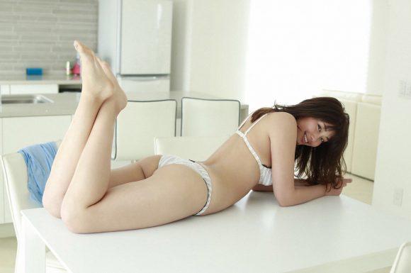 稲村亜美 21歳Fカップ! 最初で最後の水着写真集! '17セクシーグラビアまとめ神スイング57