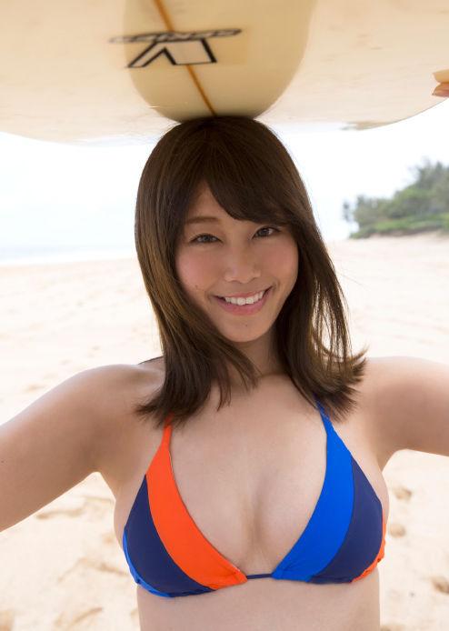 稲村亜美 21歳Fカップ! 最初で最後の水着写真集! '17セクシーグラビアまとめ神スイング140