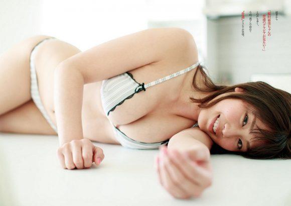 稲村亜美 21歳Fカップ! 最初で最後の水着写真集! '17セクシーグラビアまとめ神スイング23