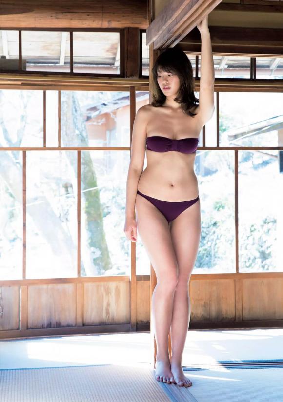 稲村亜美 21歳Fカップ! 最初で最後の水着写真集! '17セクシーグラビアまとめ神スイング30