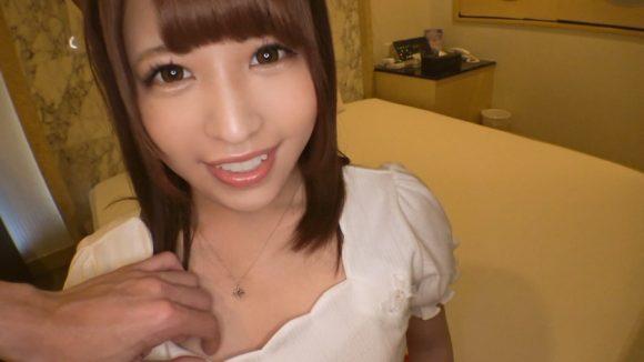 結まきな 18歳のたまらない美尻美乳! 色白激カワ美少女の初撮りAV応募1