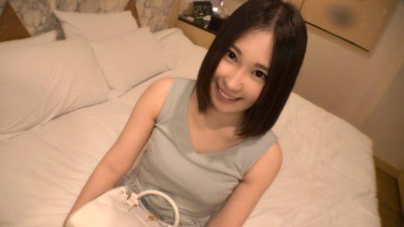 ヒナノ 21歳Eカップ色白美巨乳! 初撮りネットでAV応募→AV体験撮影2