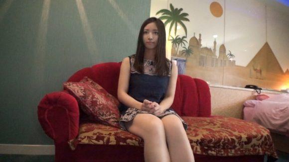 あゆみ 23歳 ムチムチFカップ! 色白美人! 初撮りネットでAV応募2