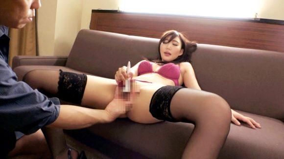 倉木紫帆 26歳 色白美人! むっちりエロいデカ美尻! ラグジュTV 9