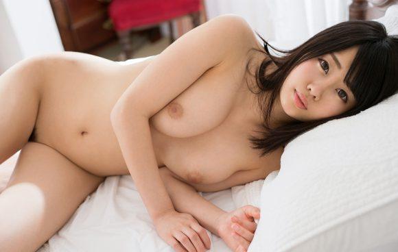 春宮すず Fカップ美巨乳美少女! パーフェクトボディ! ヌード画像24