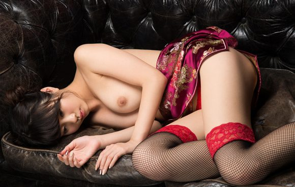 春宮すず Fカップ美巨乳美少女! パーフェクトボディ! ヌード画像15
