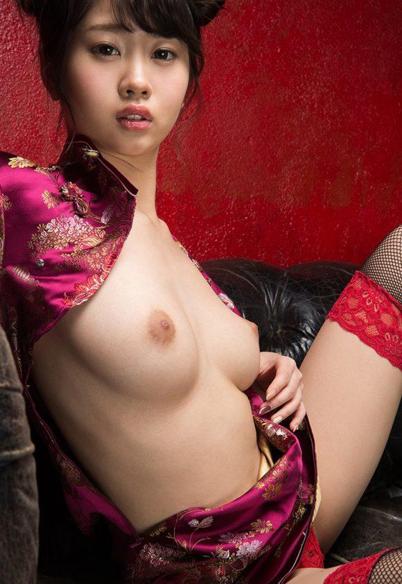 春宮すず Fカップ美巨乳美少女! パーフェクトボディ! ヌード画像14