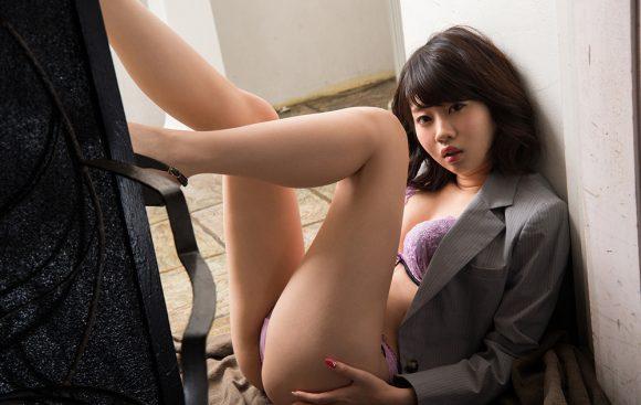 春宮すず Fカップ美巨乳美少女! パーフェクトボディ! ヌード画像12