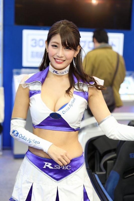 沢すみれ レースクイーン人気コンパニオン9
