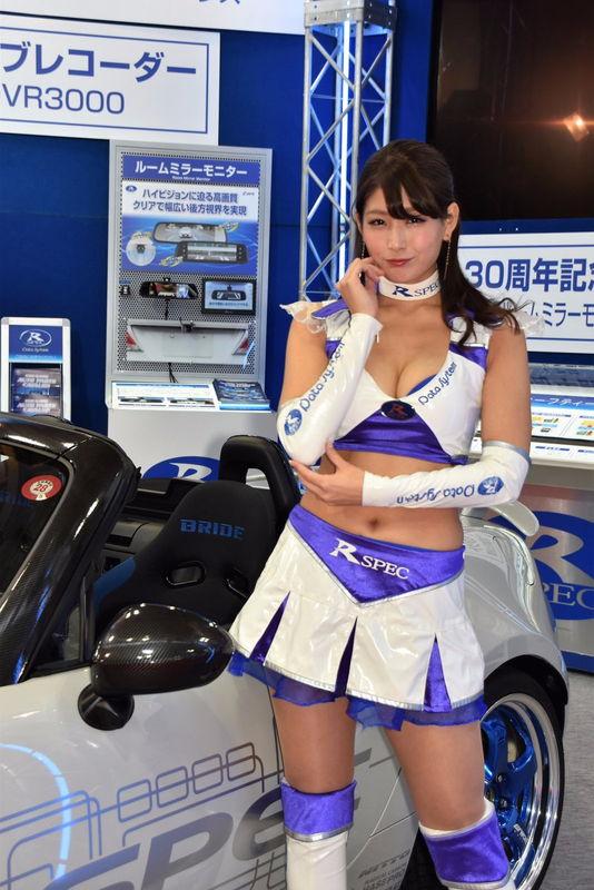 沢すみれ レースクイーン人気コンパニオン10