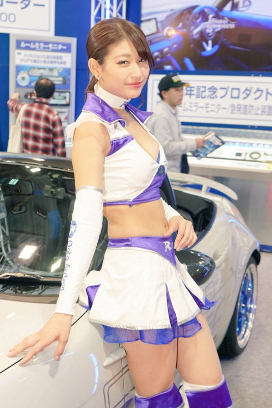 沢すみれ レースクイーン人気コンパニオン8