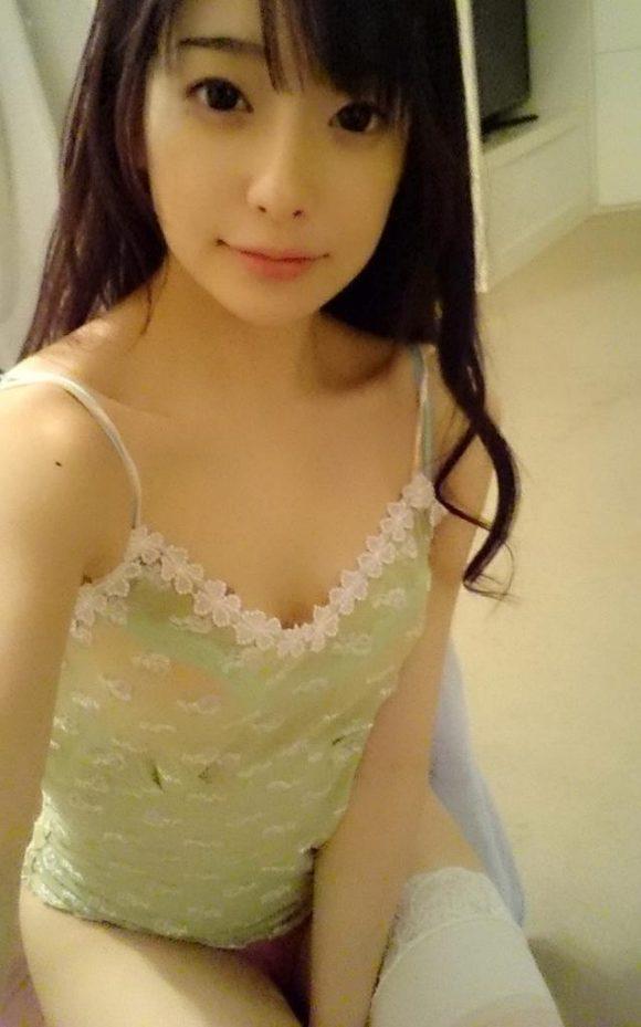 ななせ麻衣(菅野紗世) 色白美乳とエロ勃起乳首画像11