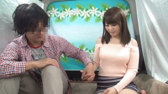 桜結奈 着衣ニットのFカップ爆乳おっぱい揉みまくり2