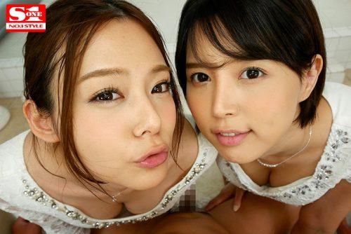 吉高寧々 葵つかさ【VR】エスワン15周年スペシャル共演2