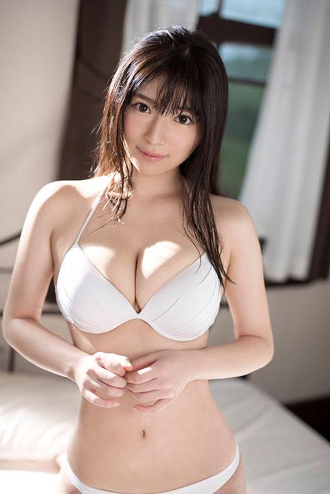 桜羽のどか 20歳スレンダーFカップ大きなおっぱい美少女!1本限定AV解禁