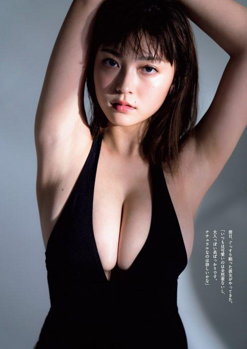 櫻井音乃の柔らかい色白爆乳おっぱいの画像46