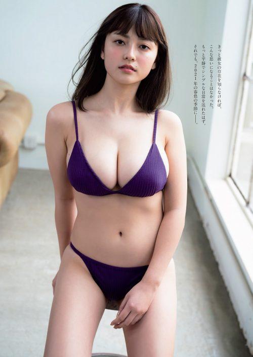 櫻井音乃の柔らかい色白爆乳おっぱいの画像48
