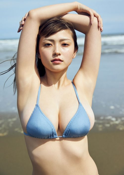 櫻井音乃の柔らかい色白爆乳おっぱいの画像5
