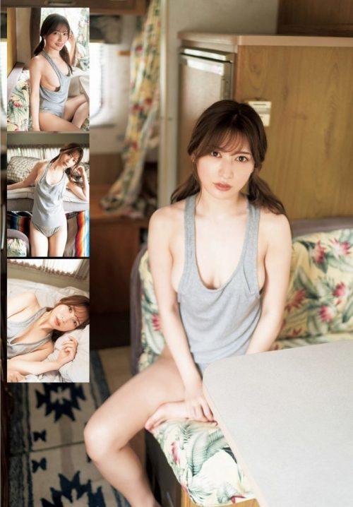 雪平莉左の巨乳おっぱいと細くくびれたウエストと大きくてボリュームのある美しいお尻のグラビア画像14