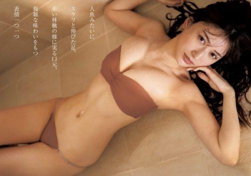 雪平莉左の巨乳おっぱいと細くくびれたウエストと大きくてボリュームのある美しいお尻のグラビア画像45